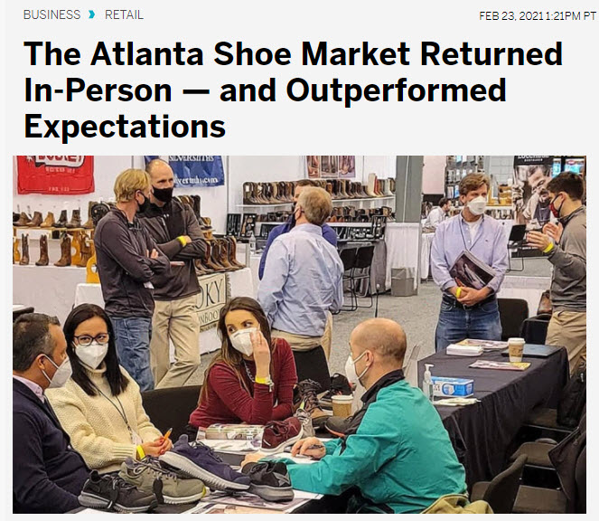 The Atlanta Shoe Market Returned In-Person — and Outperformed Expectations