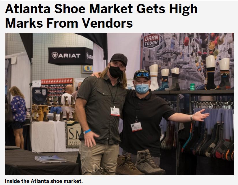 How did vendors feel about The Atlanta Shoe Market?